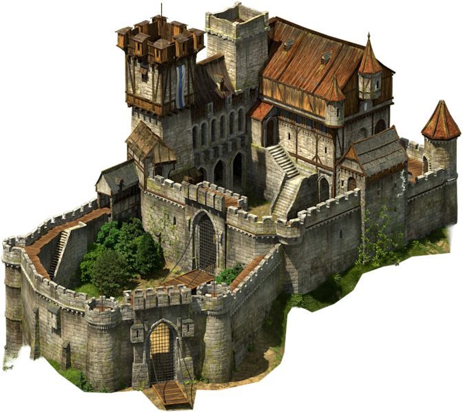 Pin by ray on. Clipart castle medieval village