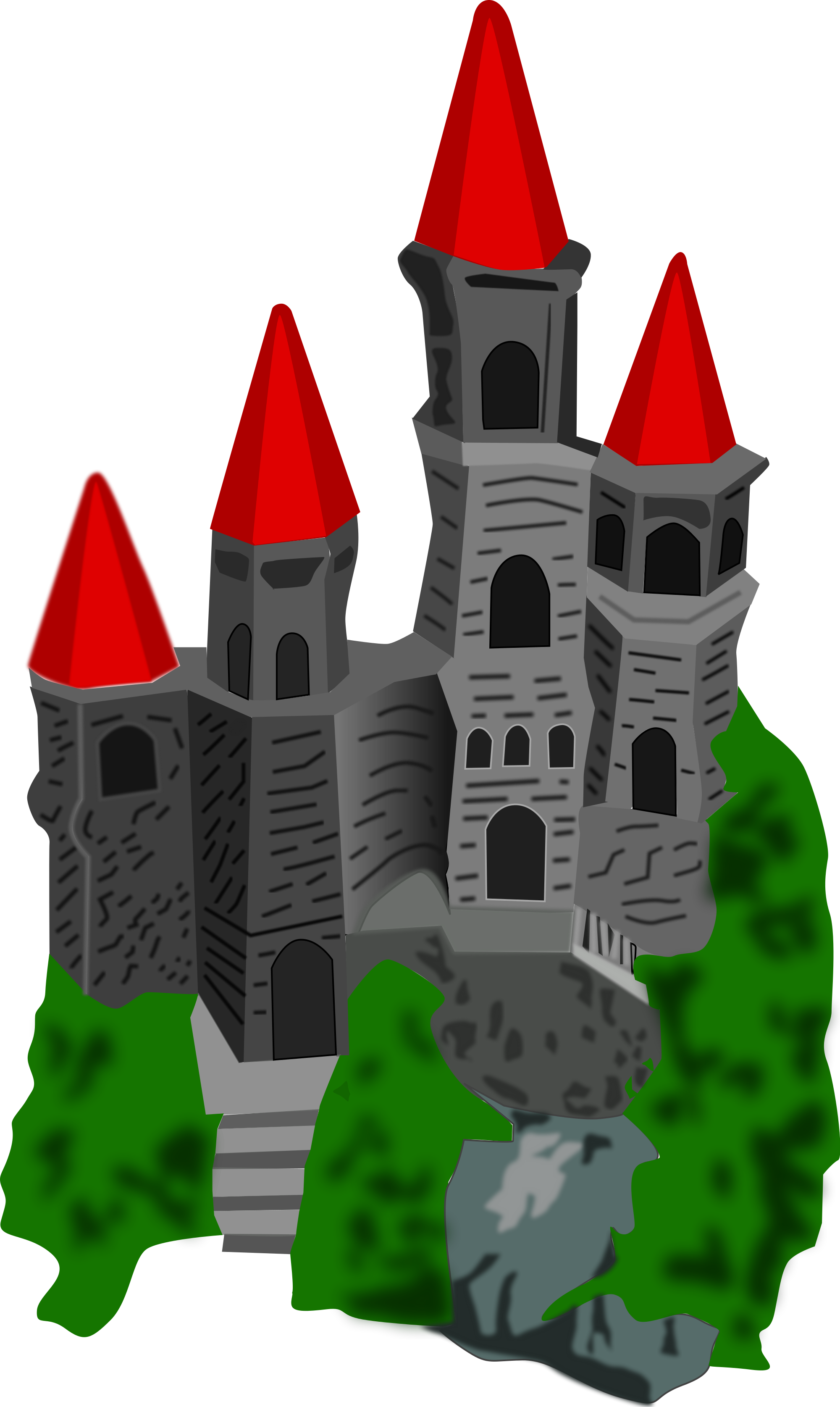 File color svg wikimedia. Clipart castle medieval village