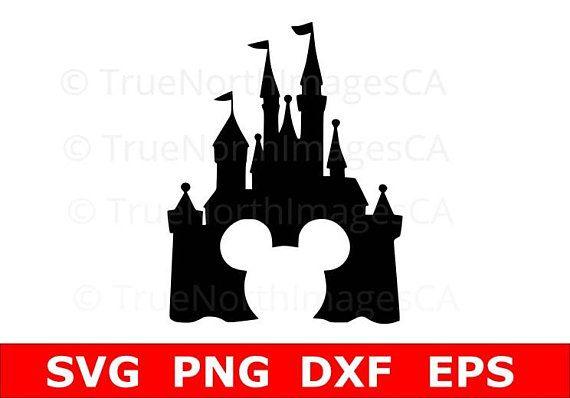 Disney svg . Clipart castle mickey mouse