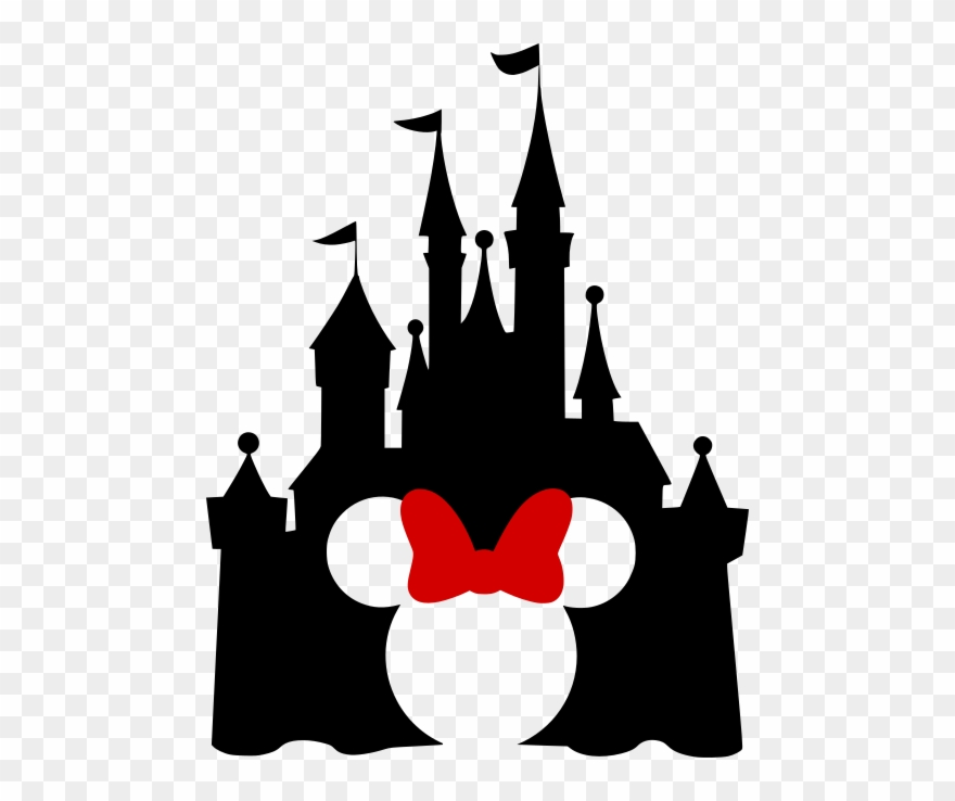 Clipart castle minnie mouse. Disney with mickey cutout