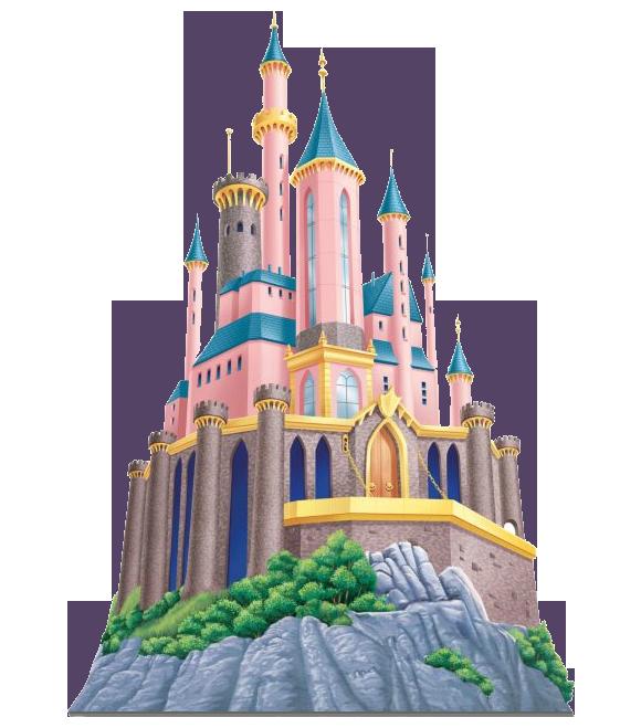 Image of Disney Castle Clipart