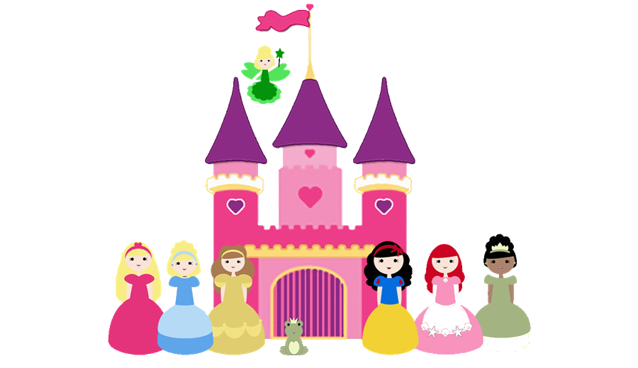 Clipart castle minnie mouse. Disney cinderella sleeping beauty