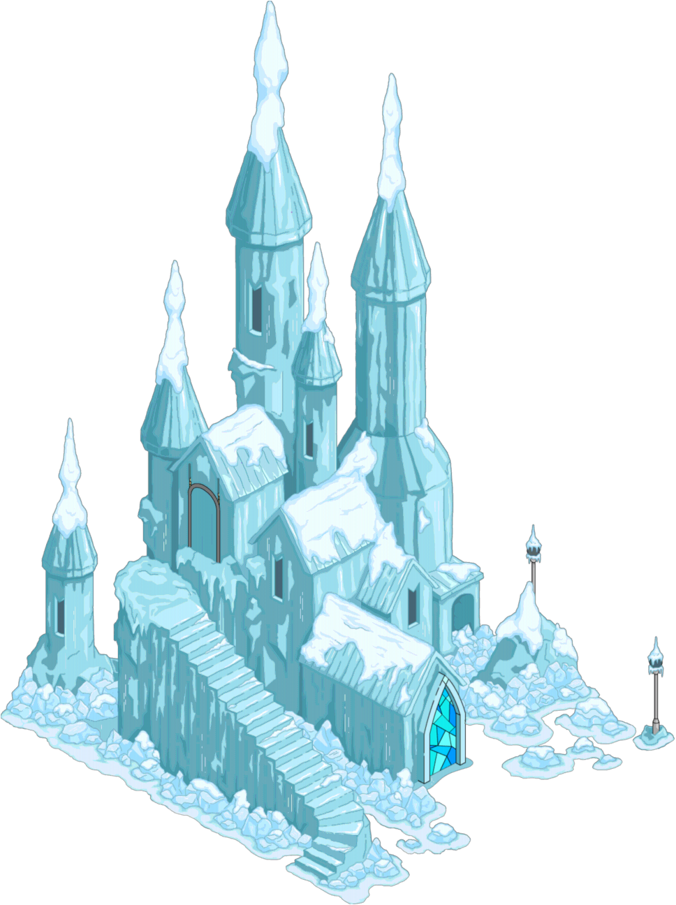 Clipart castle mountain. Ice png transparent images