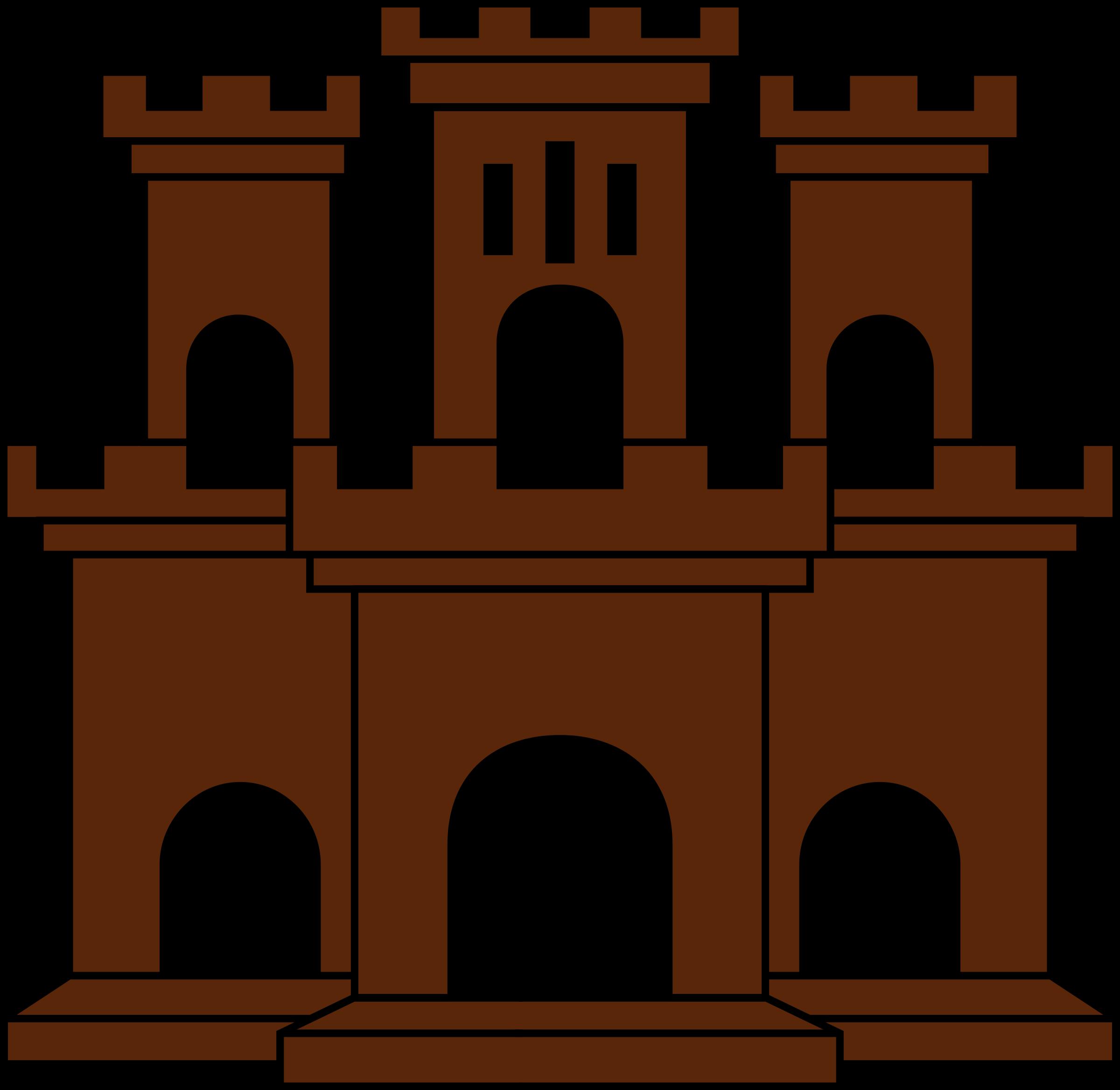 Castle orange