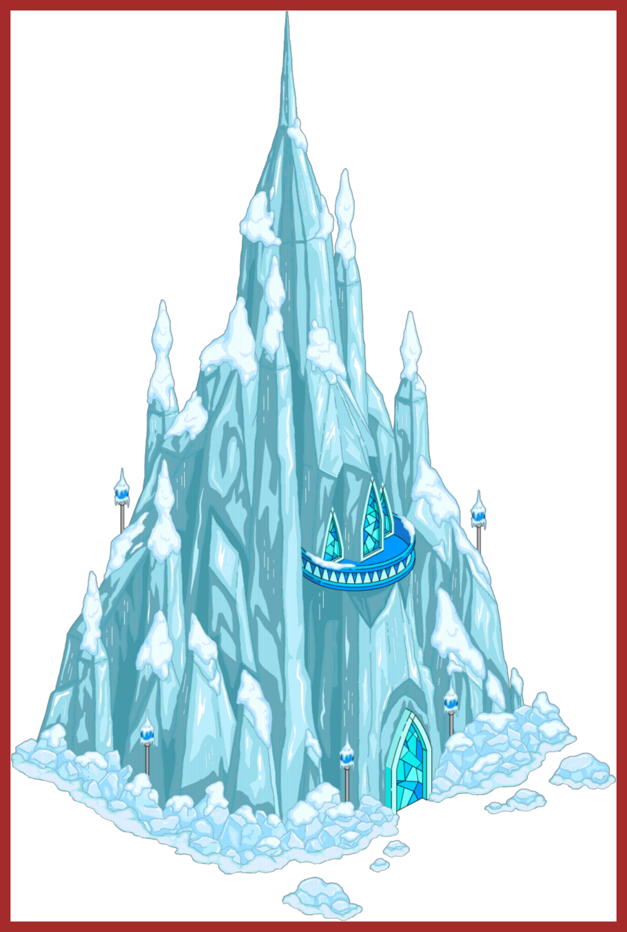 ideas of for. Palace clipart frozen castle