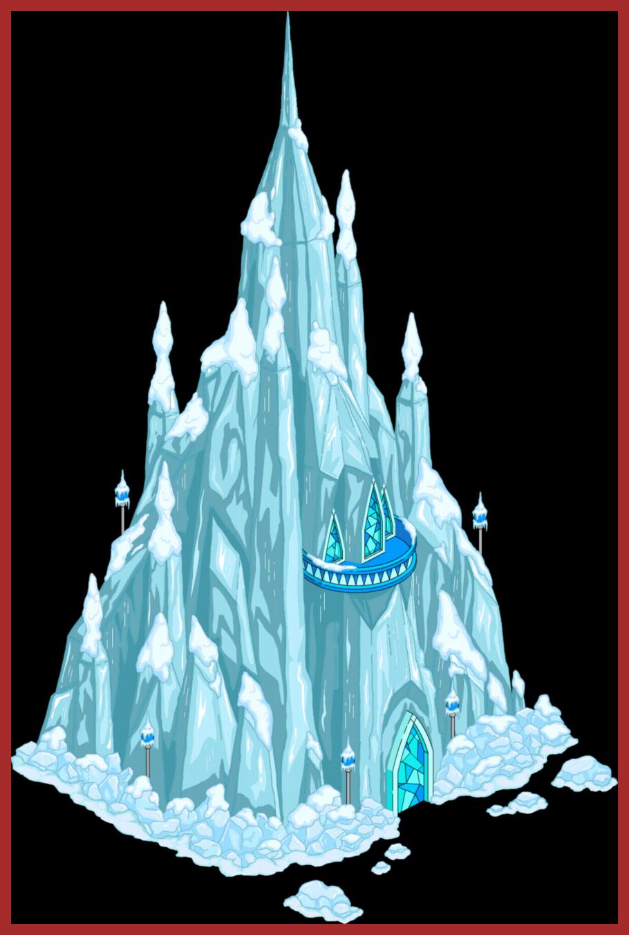 palace clipart frozen castle #134740528