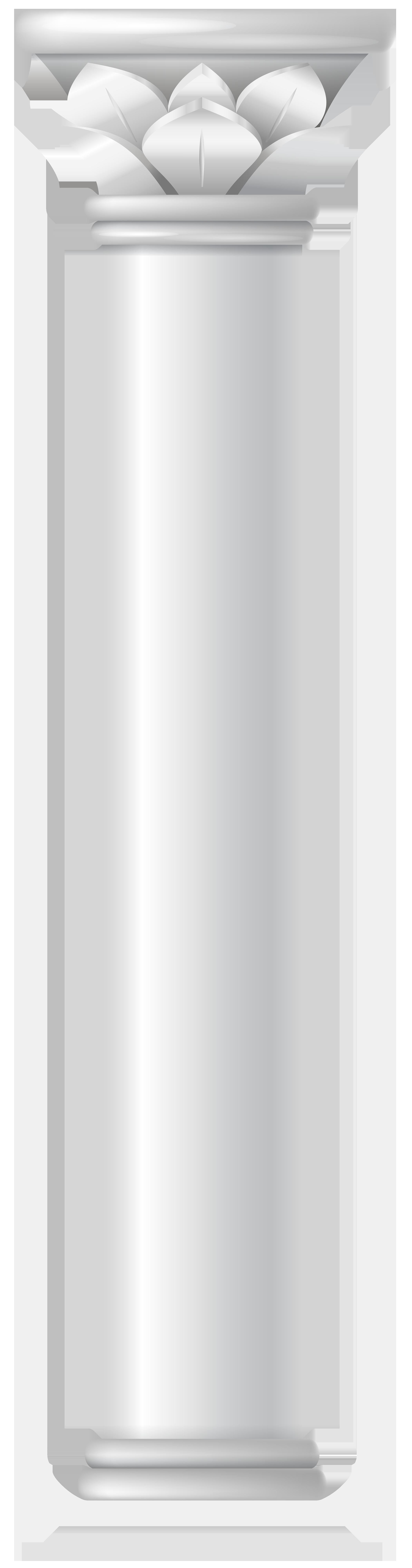 Angle cylinder png transparent. Clipart castle pillar