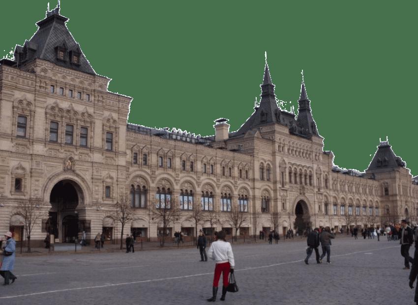 Russia red square attractions. Clipart castle russian