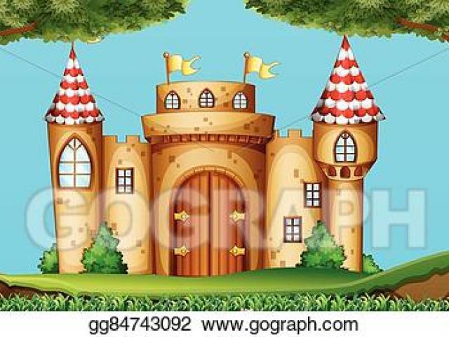 Clipart castle scenery. X free clip art