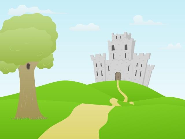 Free download clip art. Clipart castle scenery