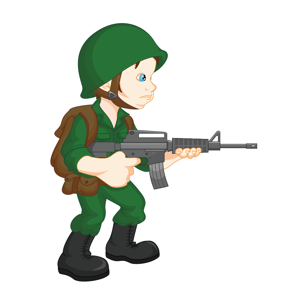 Clipart castle soldiers. Soldier army military clip