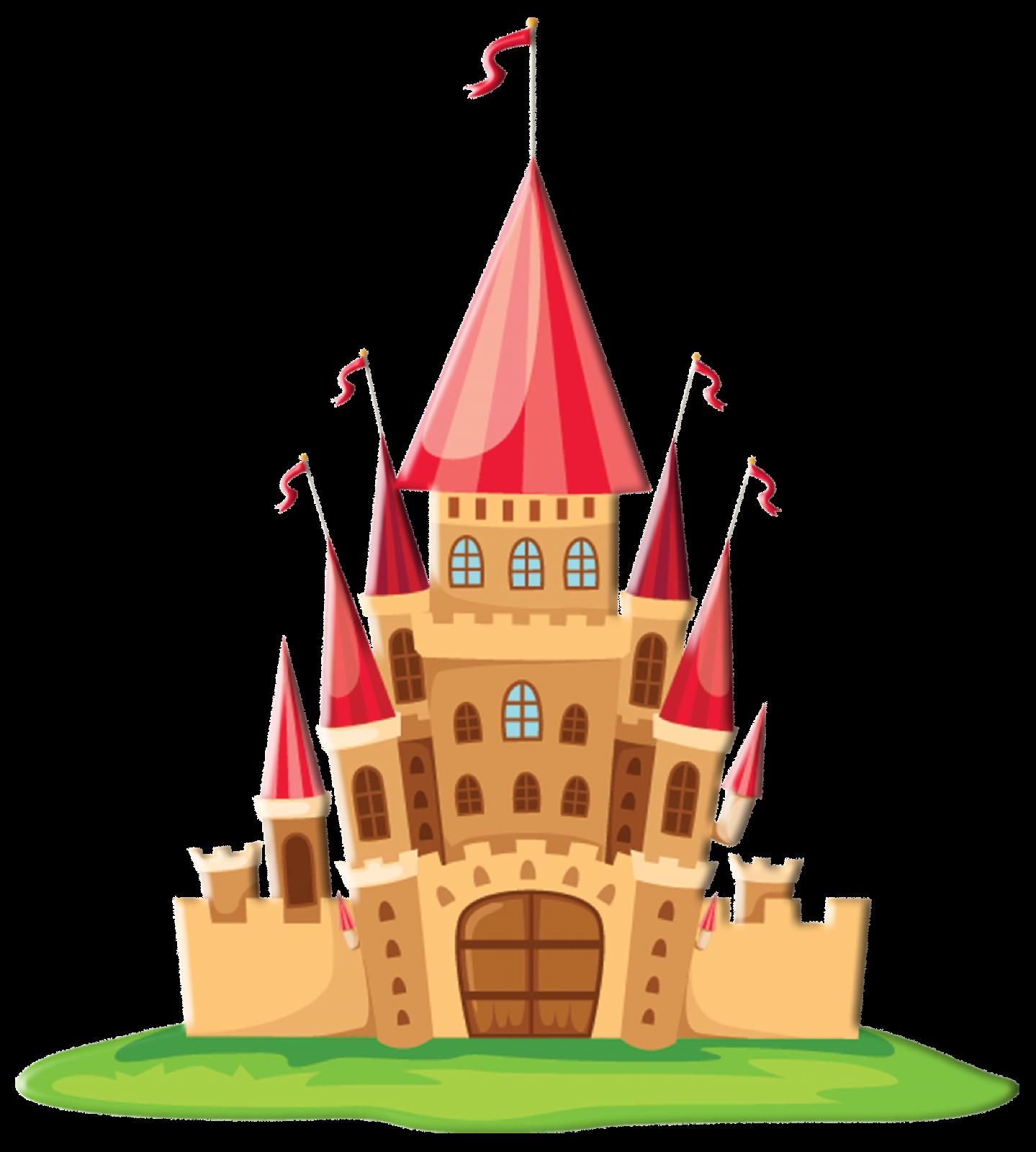 Clipart castle spanish. Princess and fairytale oh