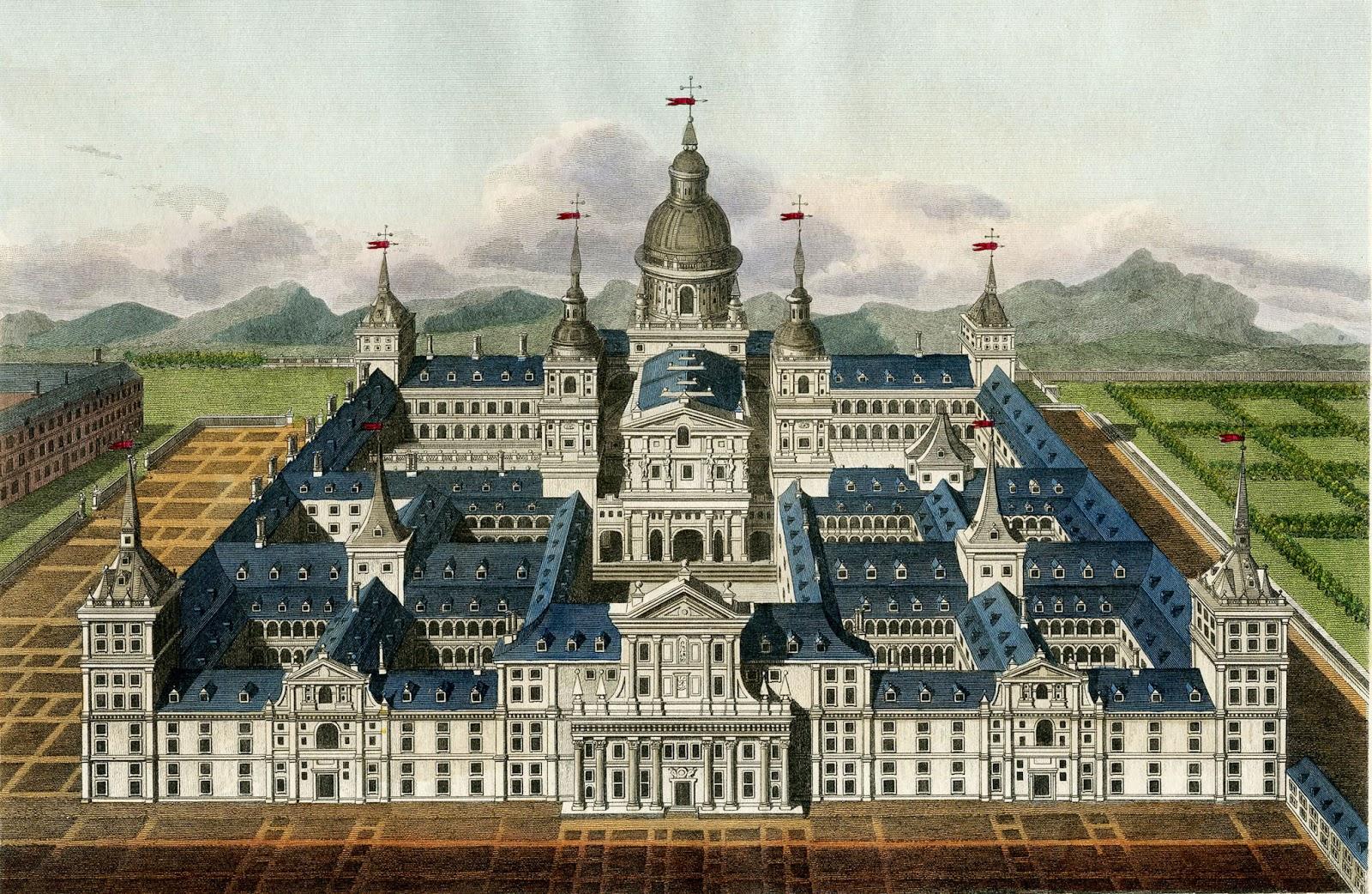 Palace clipart old palace. Vintage image amazing spanish