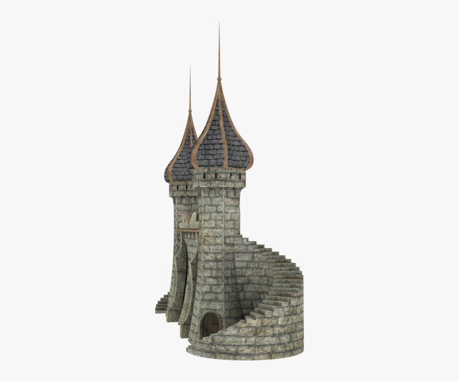 Fantasy png free . Staircase clipart castle