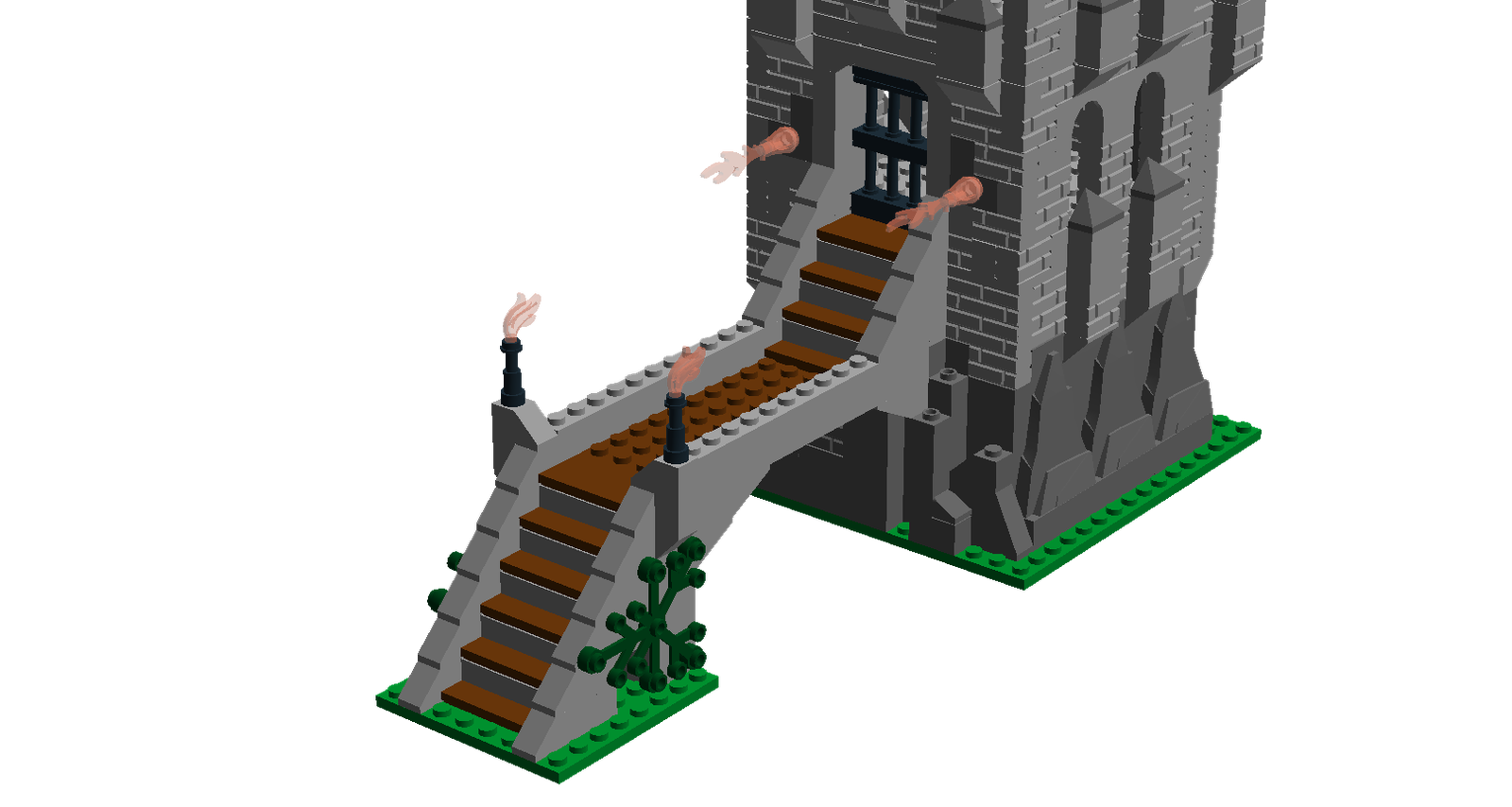 Lego ideas product holy. Clipart castle staircase