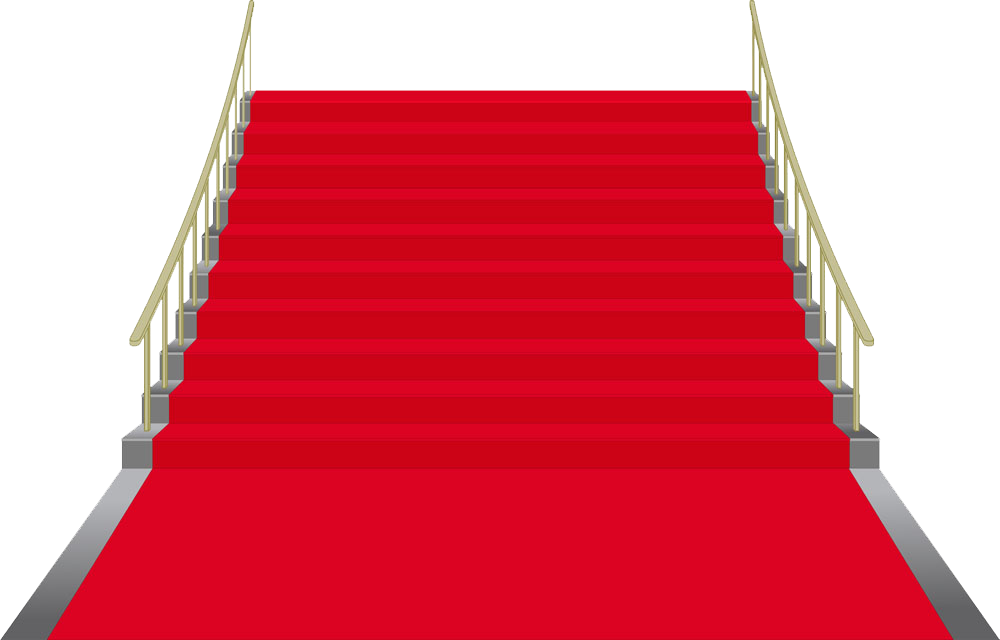 Clipart castle staircase. Stairs stair carpet clip