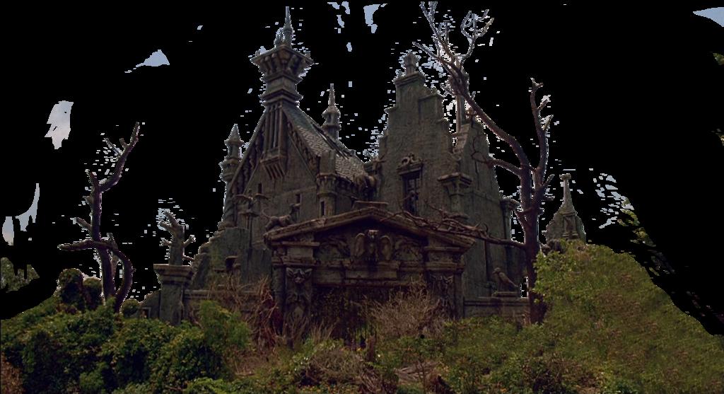 Clipart castle stone castle. Edward scissorhands stock png