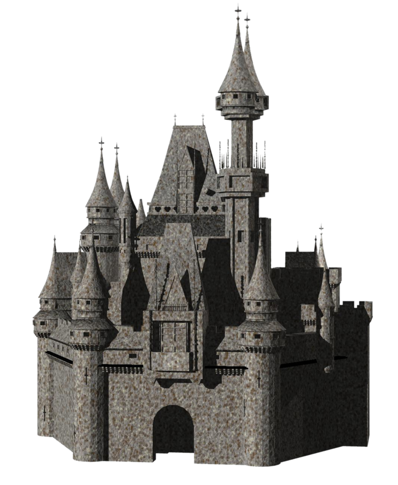 Png by mysticmorning on. Clipart castle stone castle