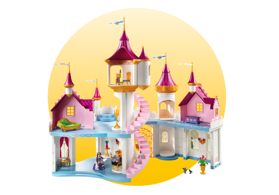 Grand princess playmobil usa. Clipart castle throne room