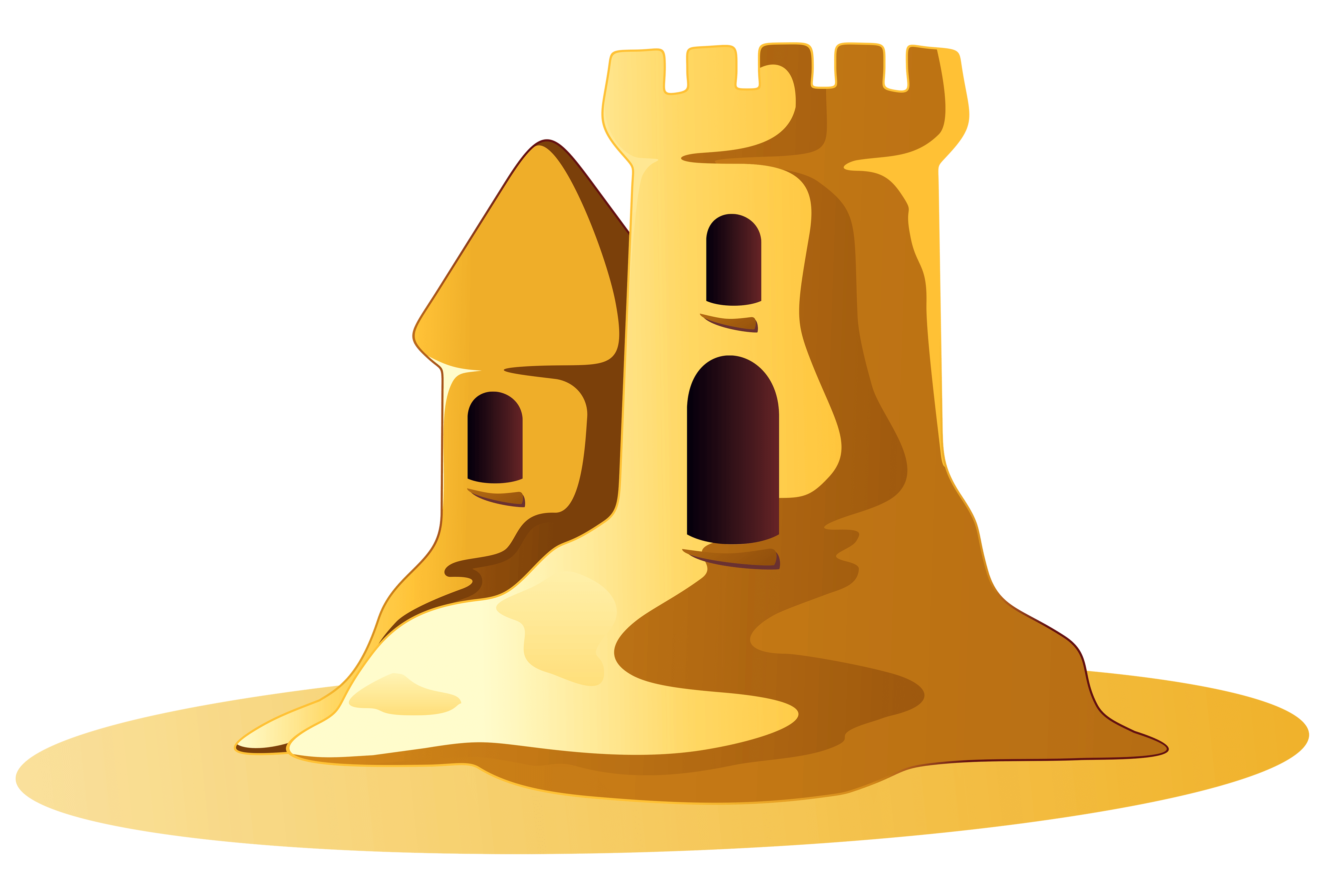 Small sand png stickpng. Clipart castle transparent background