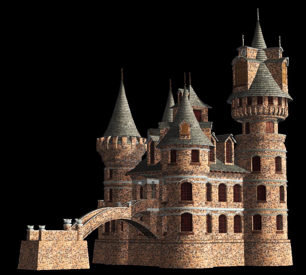 Clipart castle transparent background. Fantasy png mart