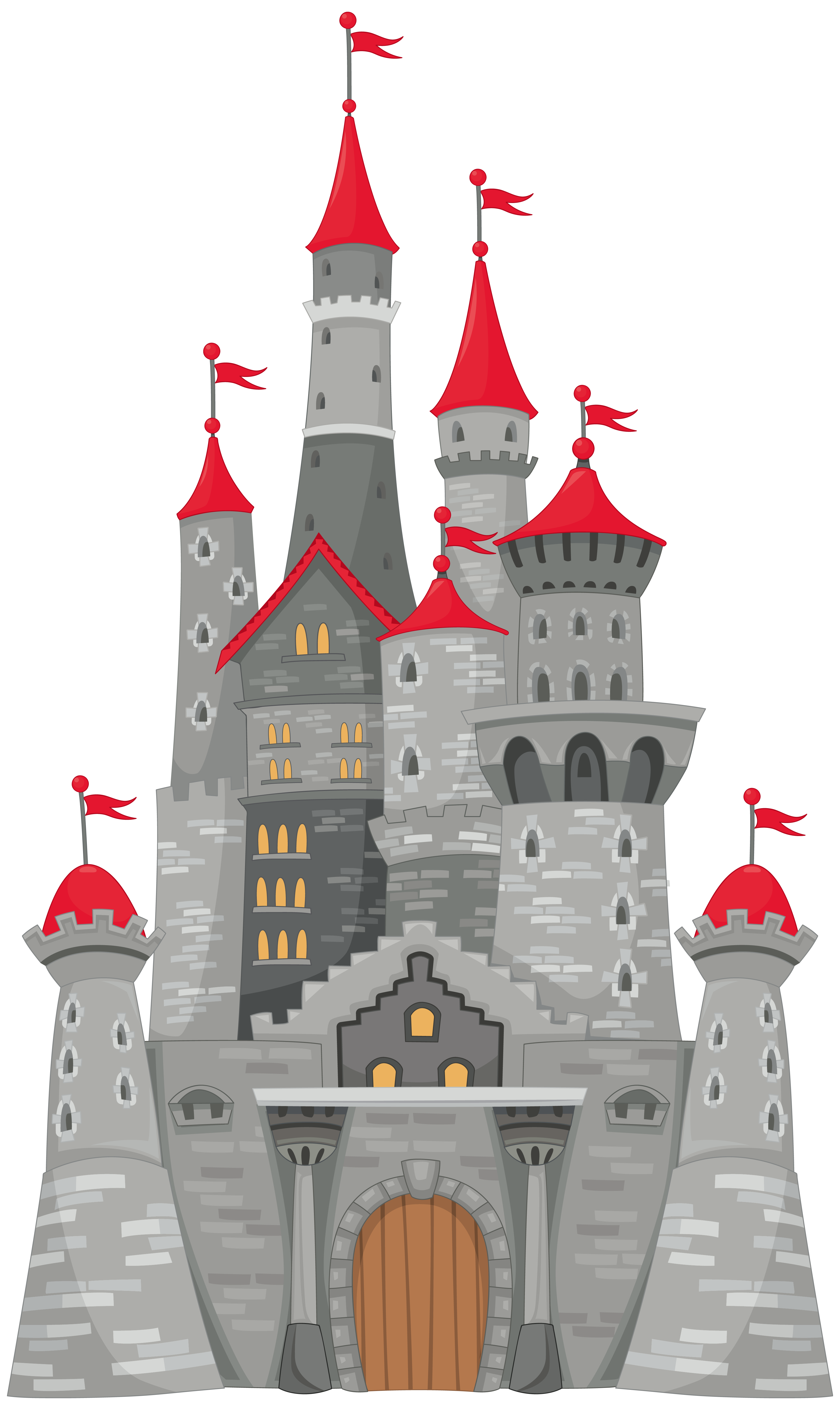 Grey png image gallery. Tower clipart 3d castle
