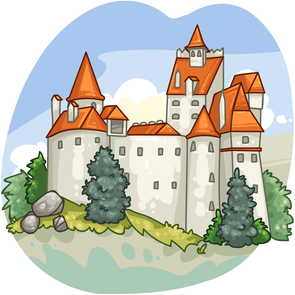 Clipart castle transylvania. Item detail bran itembrowser