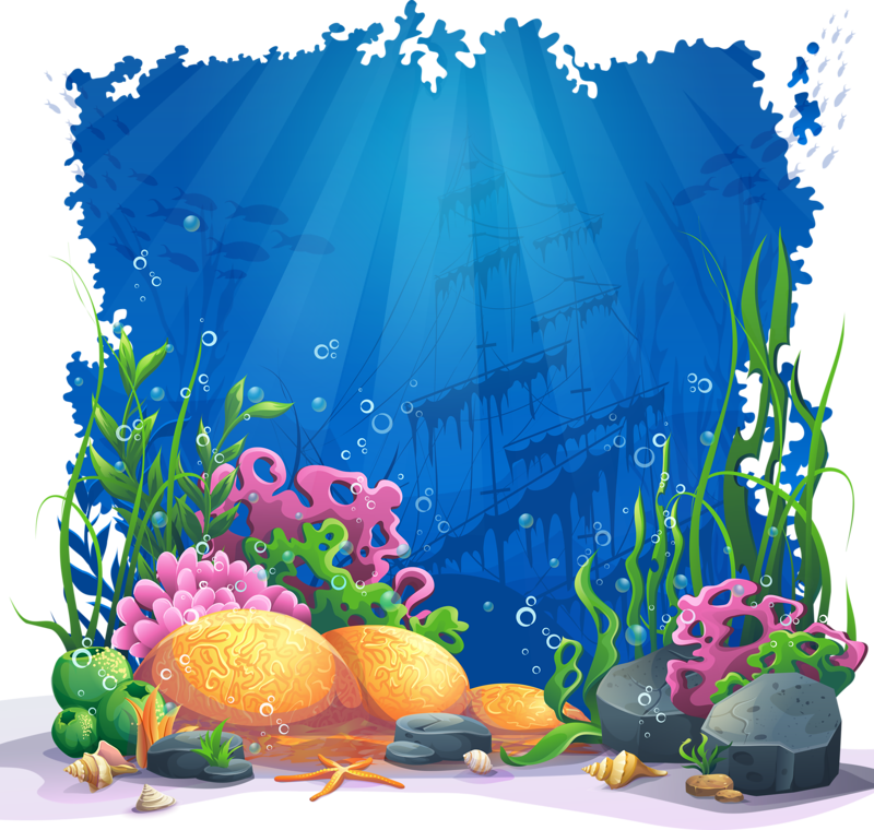 c b bebe. Treasure clipart underwater