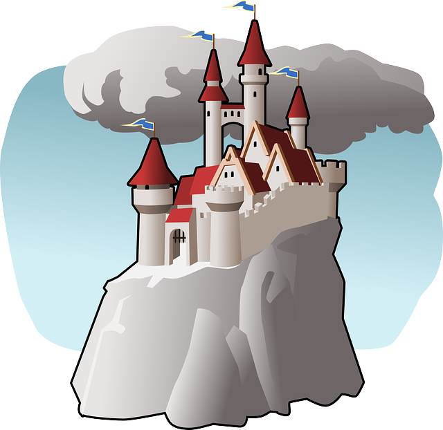 Clipart castle underwater. Cleopatra facts for kids