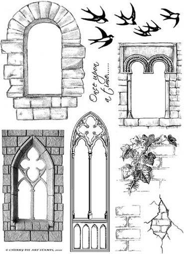 Clipart castle windows. Door clip art window