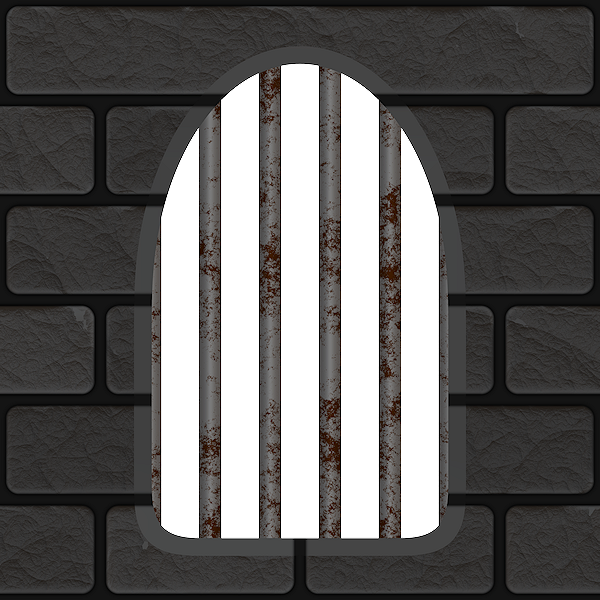 Seamless and repeatable tiles. Clipart castle windows