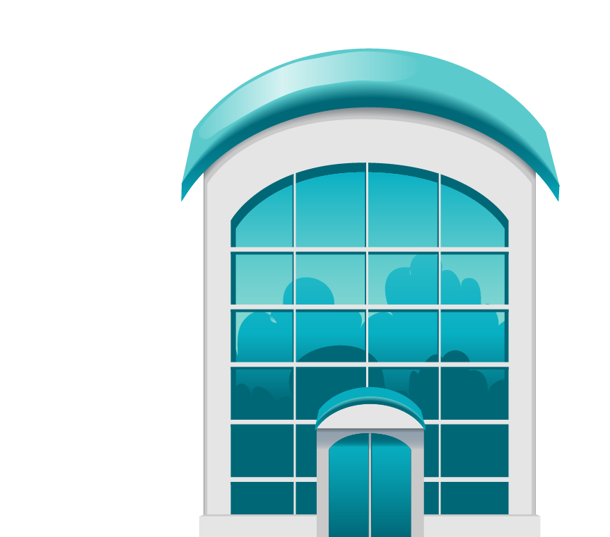 Clipart castle windows. Window blue building glass