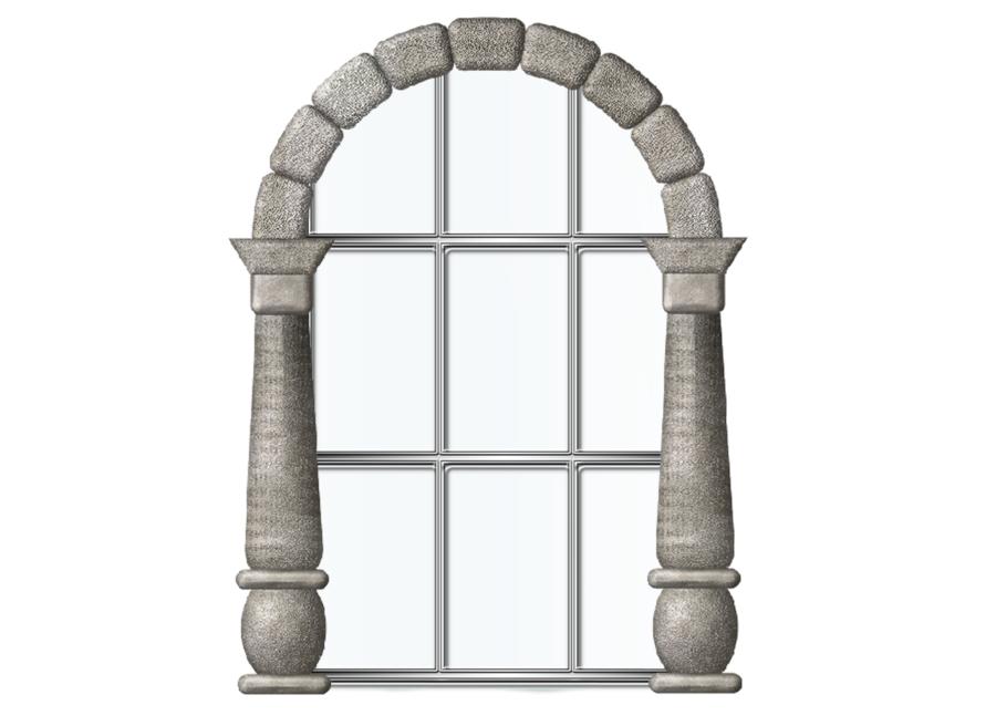 Window transparent png pictures. Clipart castle windows