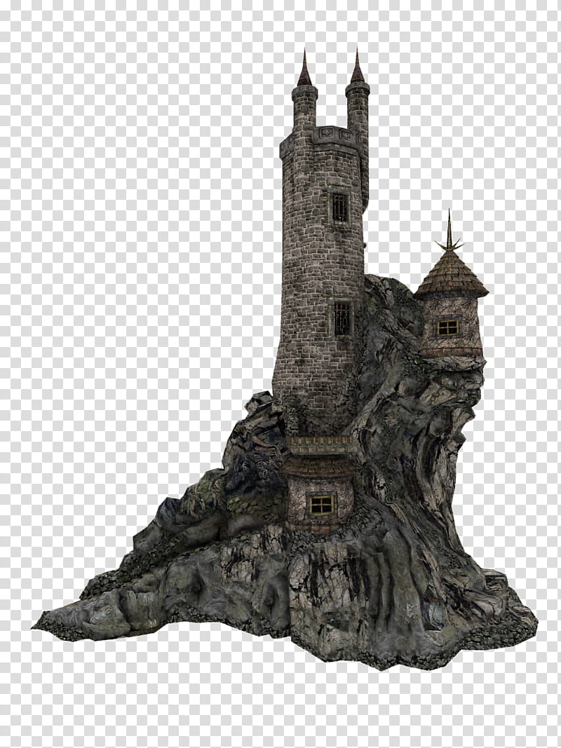 Tower clipart turret castle. Wizard gray illustration transparent