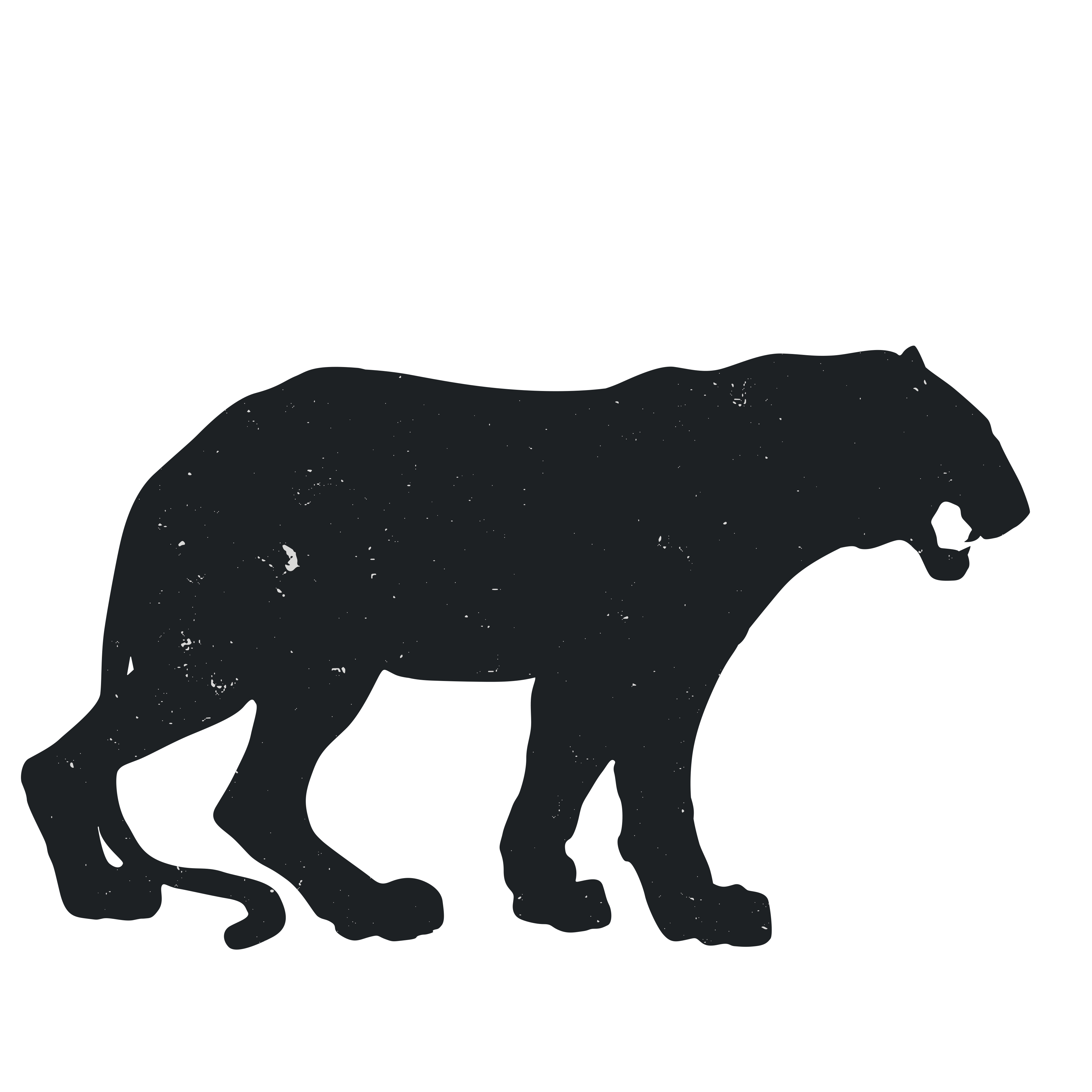 Groundhog clipart shadow. Panther silhouette clip art