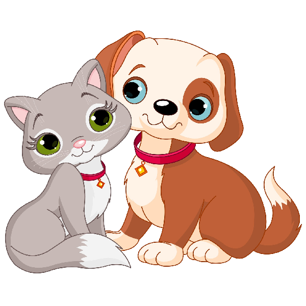 collection of dog. Clipart puppy happy