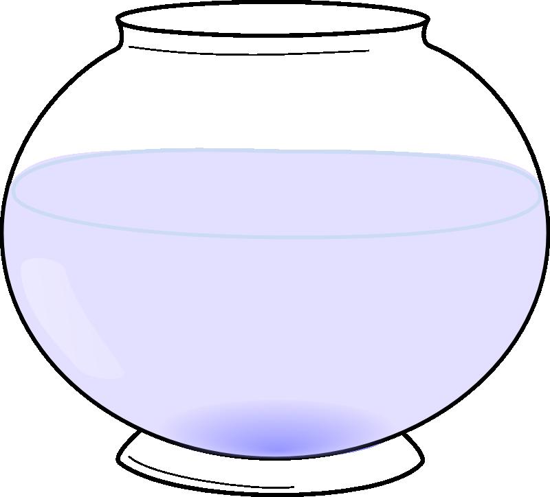 Fishbowl clipart background. Fish bowl at getdrawings