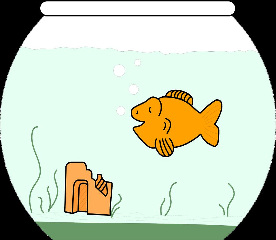 Fish clipart goldfish. Free stock photo illustration