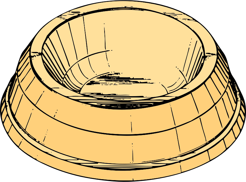 Dish clipart bowl. Pet medium image png