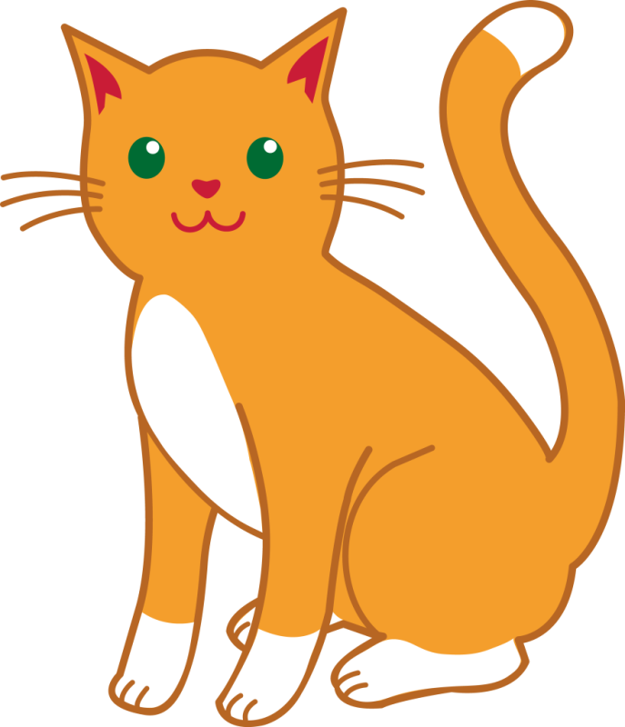 clipart cat clear background