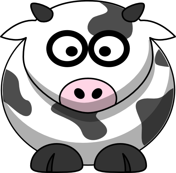 Fight clipart courtesy. Little cow clip art