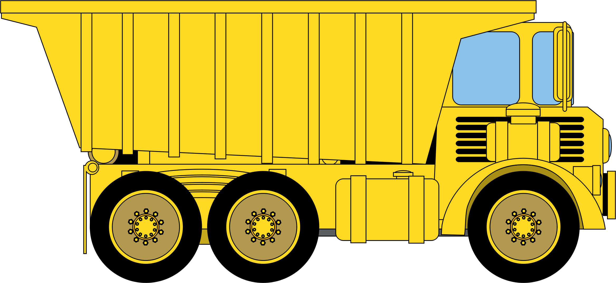 Vehicle pencil and in. Clipart cat dump truck