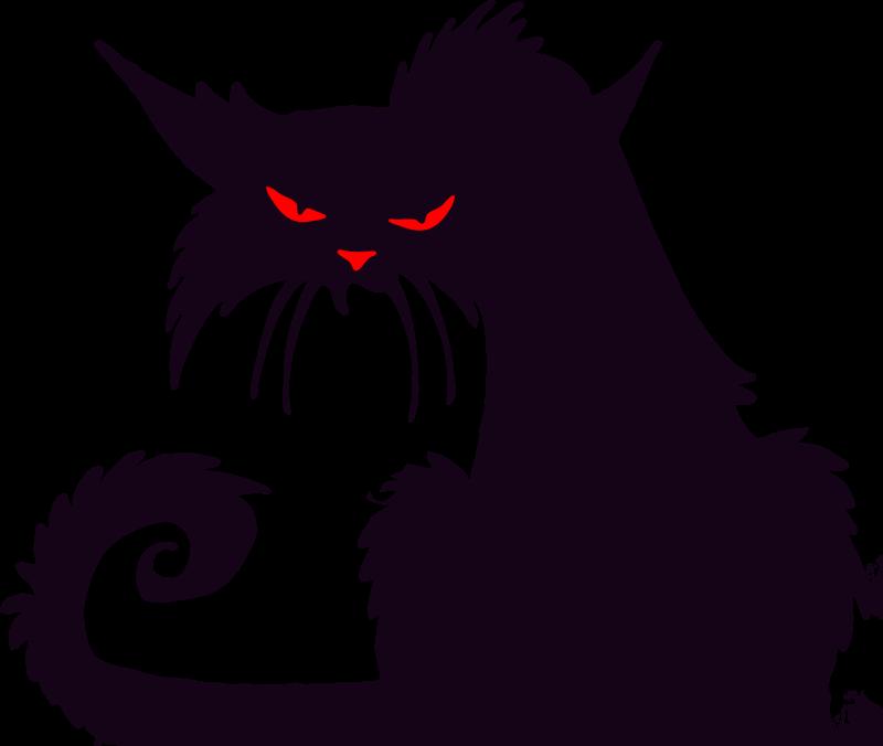 Clipart cat halloween. Black cats png transparent