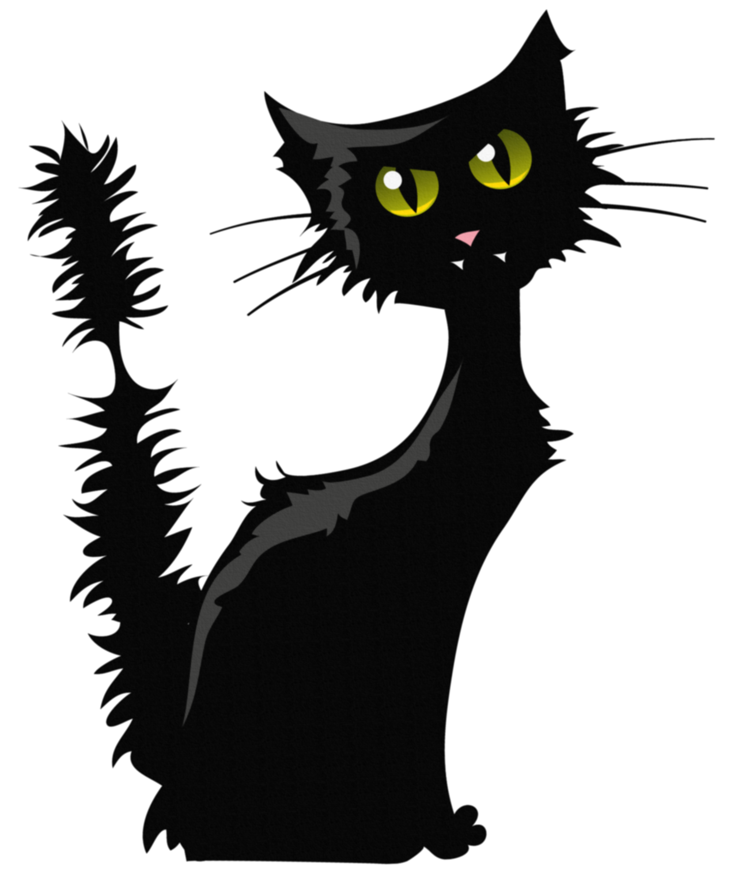 Clipart halloween black cat. Png image gallery yopriceville