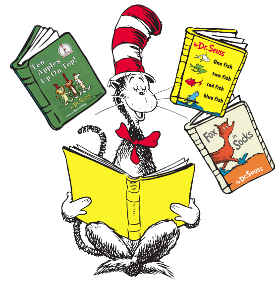 Read across america greenfield. Clipart reading reader