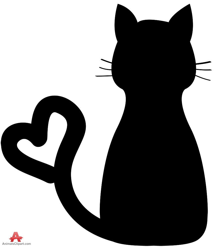 Hearts clipart cat. Free love cliparts download
