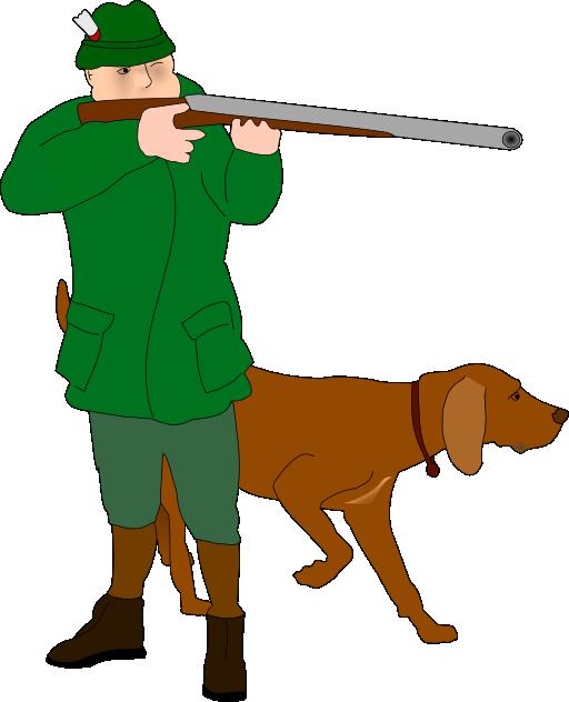 Hunter i royalty free. Hunting clipart boy hunting