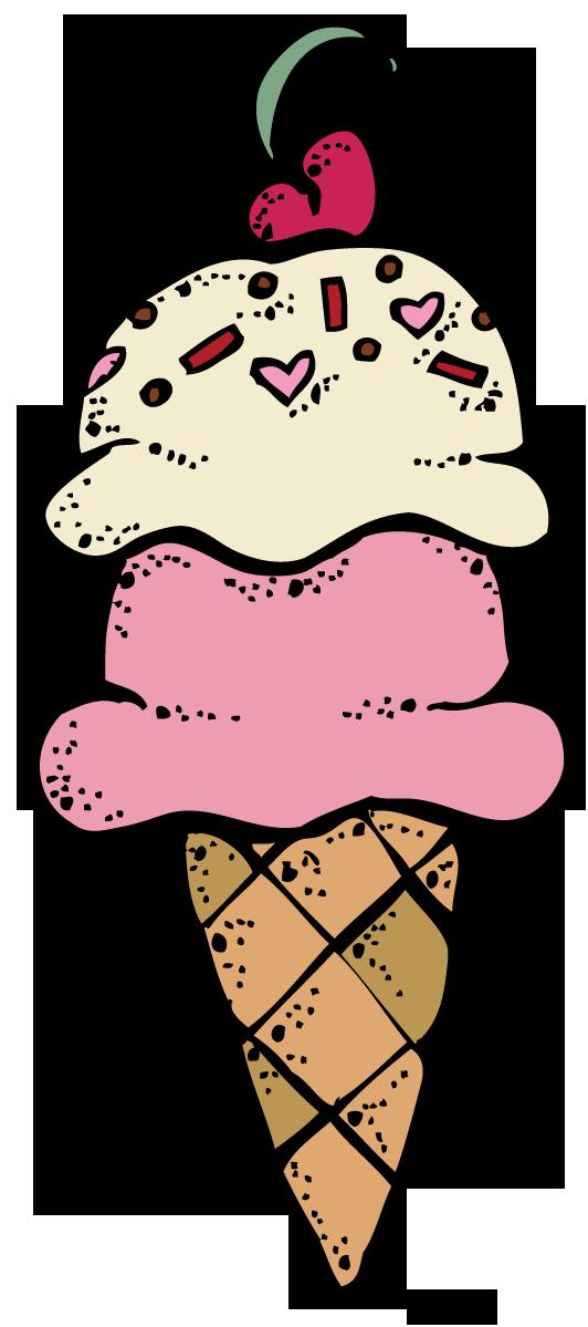 Dog clipart ice cream. Cone clip art image