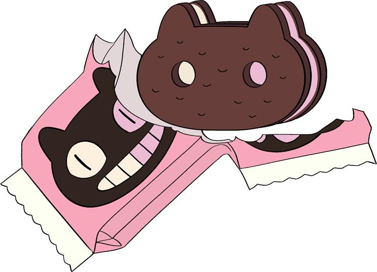 Cookie cat steven universe. Gem clipart biscuit