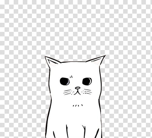 Clipart cat illustration. Ii free use white